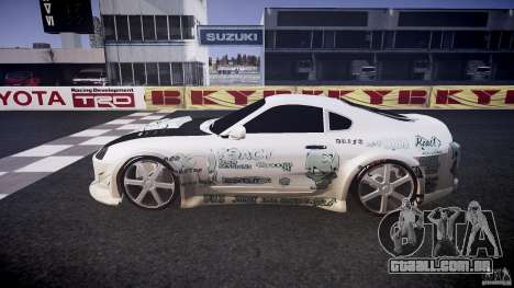 Toyota Supra ProStreet Style para GTA 4 esquerda vista