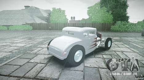 Ford Hot Rod 1931 para GTA 4 vista superior
