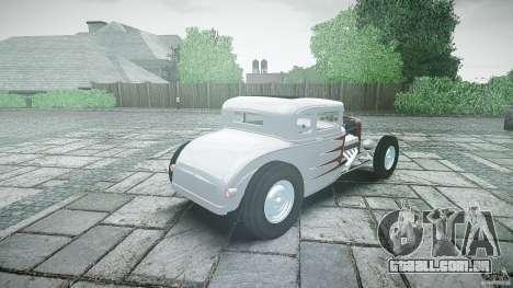 Ford Hot Rod 1931 para GTA 4 vista superior
