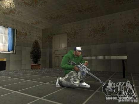Pak domésticos armas V2 para GTA San Andreas quinto tela