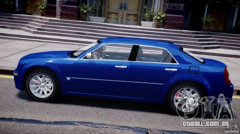Chrysler 300C SRT8 Tuning para GTA 4 esquerda vista