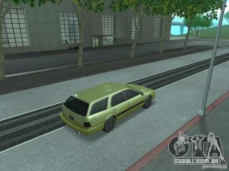 ENBSeries para PC fraco para GTA San Andreas terceira tela