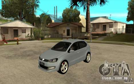 Volkswagen Polo 2011 para GTA San Andreas