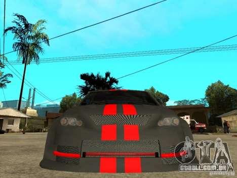 Dacia Logan Tuned para GTA San Andreas vista direita