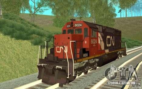 Canadian National SD40U para GTA San Andreas