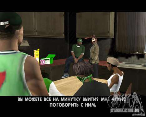 Jason Voorhees para GTA San Andreas décimo tela