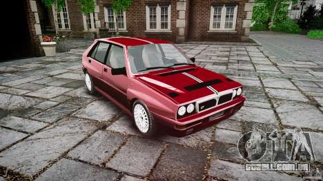 Lancia Delta HF Integrale Dealers Collection para GTA 4 vista direita