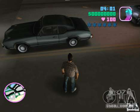 Novo Sabre para GTA Vice City deixou vista