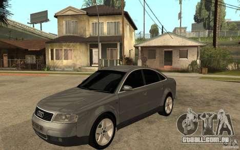 Audi A6 3.0i 1999 para GTA San Andreas