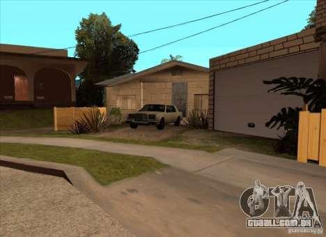 Veículos estacionados na Grove Street para GTA San Andreas