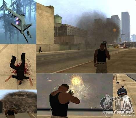 Overdose Effects v 1.4 para GTA San Andreas por diante tela