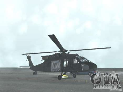 O helicóptero de CoD 4 MW para GTA San Andreas