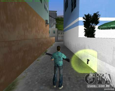 O novo M-60 para GTA Vice City terceira tela