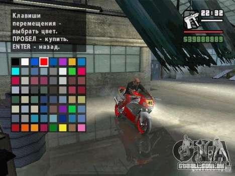 Carcols.dat By Russiamax para GTA San Andreas terceira tela