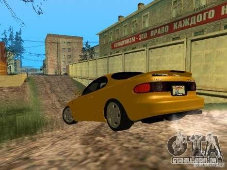 Toyota Celica ST185 1996 para GTA San Andreas traseira esquerda vista