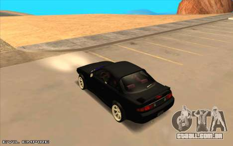 Nissan Silvia s14 Tuned Drift v0.1 para GTA San Andreas esquerda vista