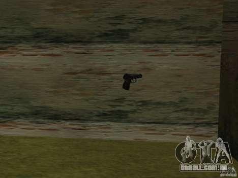 Pak versão doméstica de armas 2 para GTA San Andreas terceira tela