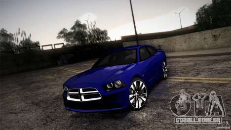 Dodge Charger SRT8 2012 para GTA San Andreas vista direita
