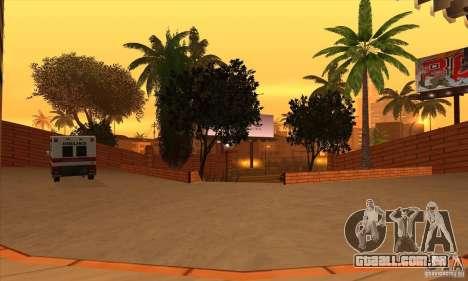 O novo hospital em HP para GTA San Andreas sexta tela