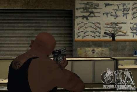 M14 EBR do Killing Floor para GTA San Andreas por diante tela