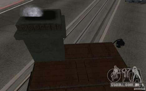 Fogão para GTA San Andreas vista direita