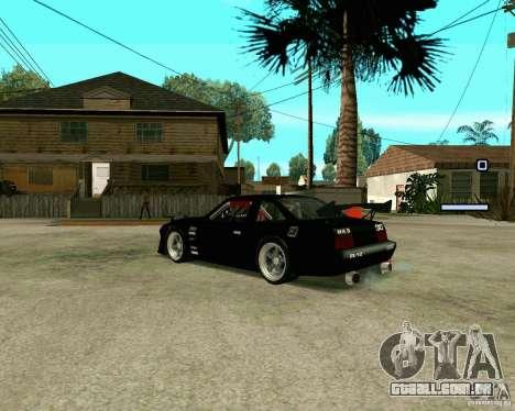 Hotring Racer Tuned para GTA San Andreas vista direita