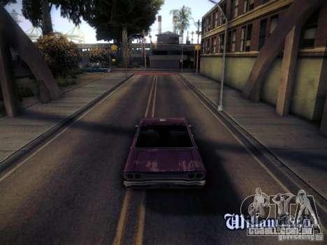 SA DirectX 1.1 Beta para GTA San Andreas terceira tela