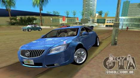Buick Regal para GTA Vice City vista traseira esquerda