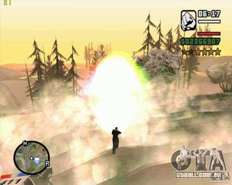 Masterspark para GTA San Andreas por diante tela
