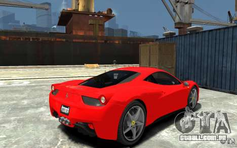 Ferrari 458 Italia 2010 v3.0 para GTA 4 vista direita