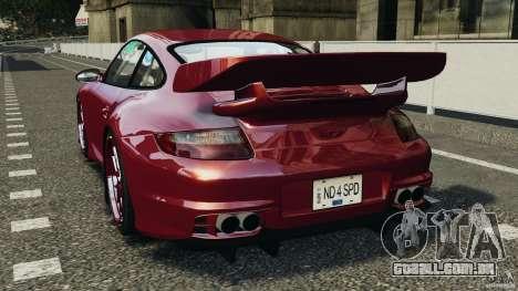 Porsche 997 GT2 Body Kit 1 para GTA 4 traseira esquerda vista
