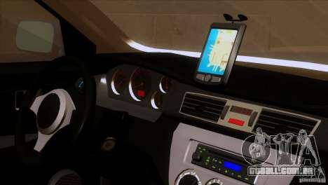 Mitsubishi Lancer Evolution IIIV para GTA San Andreas vista traseira