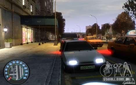2109 VAZ Daguestão tuning para GTA 4 esquerda vista