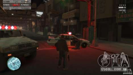 First Person Shooter Mod para GTA 4 por diante tela