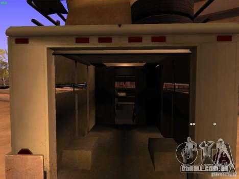 Monster Van para GTA San Andreas vista interior