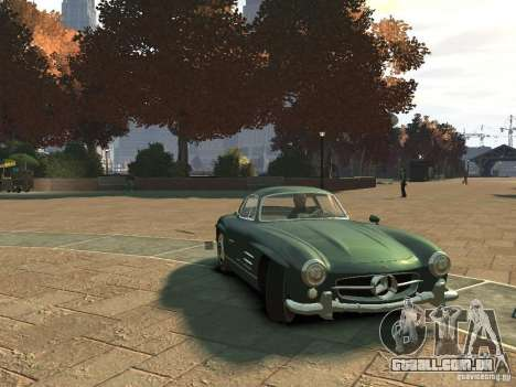 Mercedes-Benz 300SL Gullwing para GTA 4 esquerda vista
