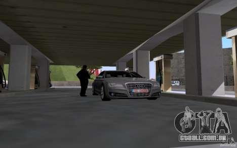 Carro de tanque de gasolina para GTA San Andreas