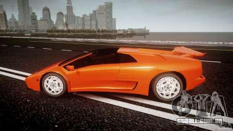 Lamborghini Diablo 6.0 VT para GTA 4 esquerda vista