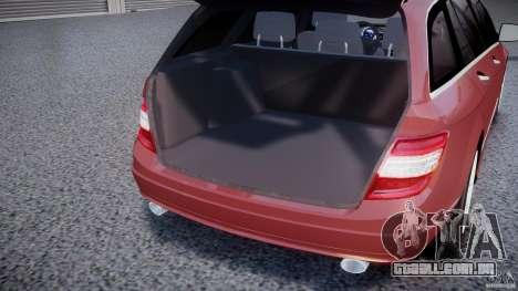 Mercedes-Benz C 280 T-Modell/Estate para GTA 4 vista lateral