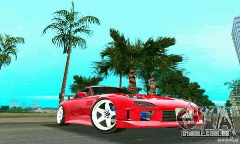 Mazda RX7 Charge-Speed para GTA Vice City deixou vista