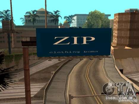 New SkatePark para GTA San Andreas sétima tela
