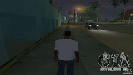 t-shirt é uma cara de Troll para GTA San Andreas segunda tela