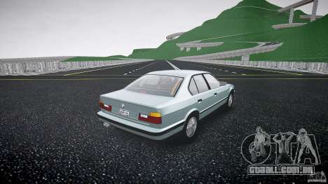 BMW 535i E34 para GTA 4 vista interior