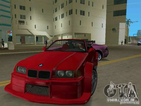BMW M3 E36 para GTA Vice City deixou vista