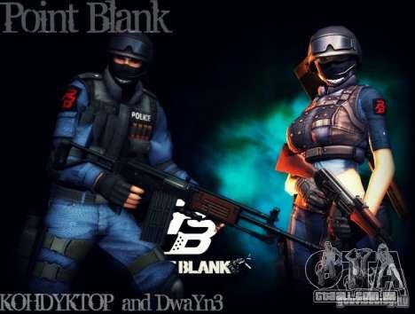 SWAT de Point Blank para GTA San Andreas