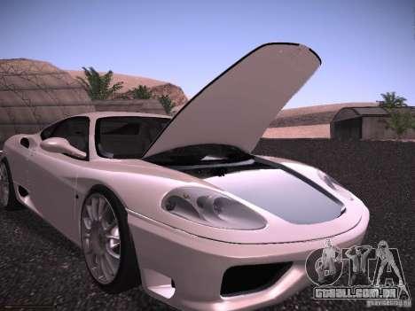Ferrari 360 Modena para o motor de GTA San Andreas
