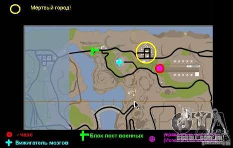 Chernobyl, v. 1 para GTA San Andreas quinto tela