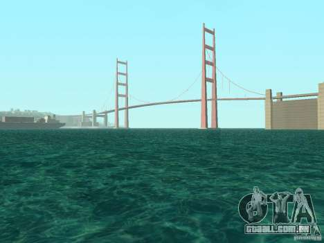 Fumaça e novas água de texturas para GTA San Andreas