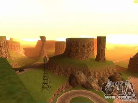 Without the desert para GTA San Andreas segunda tela