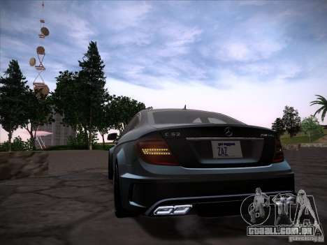 Improved Vehicle Lights Mod para GTA San Andreas terceira tela